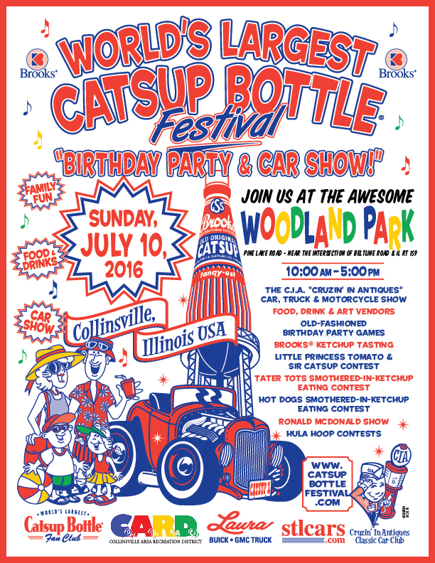2016 Brooks Catsup Bottle Festival