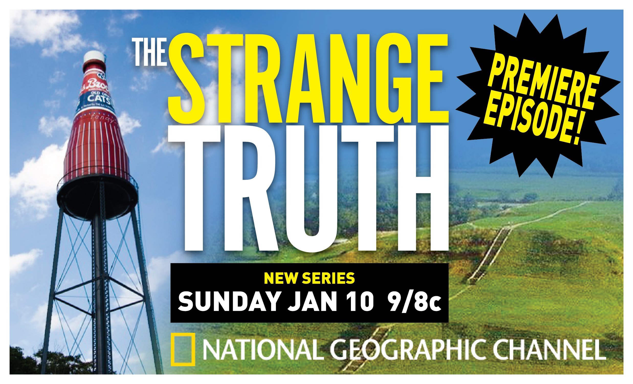 NatGeoTV Strange Truth Catsup Bottle
